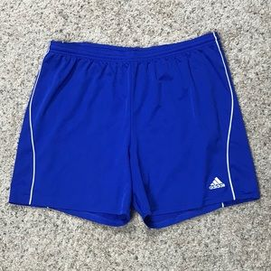 Vintage adidas running shorts